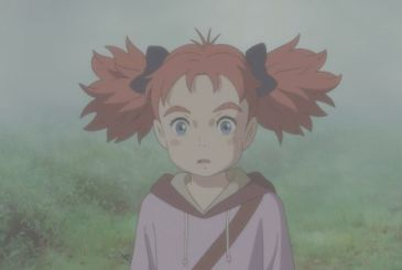 Mary and the Witch's Flower: in the video the opening scene