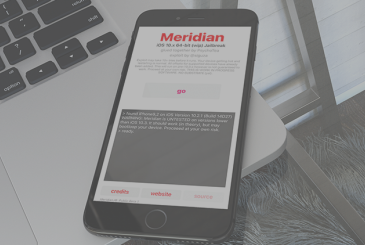 Here is Meridian, the jailbreak of iOS 10.x for all device 64bit