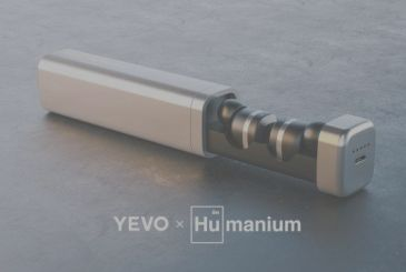 Yevo X Humanium: Wireless headsets made with the Noble metal – CES 2018