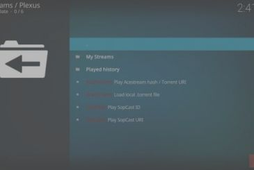 Acestream on Kodi: a guide to the installation of Plexus