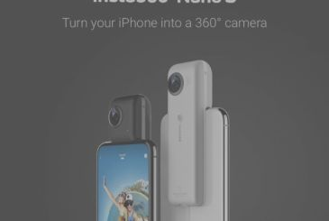 Insta360 launches Nano S: the new camera 360° for iPhone! – CES2018