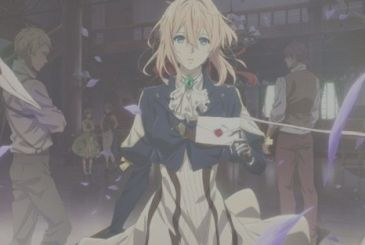 Violet Evergarden, the first episode is on Netflix dubbed in Italian