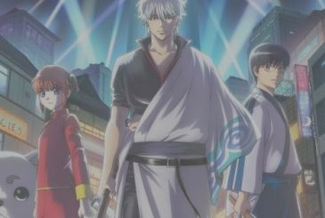 Gintama: in the video, the opening and the ending of the last story arc in the anime
