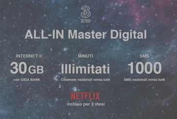 Three has two offers super affordable: ALL-IN First Digital and Master Digital
