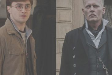 Fantastic animals, Daniel Radcliffe, for the first time on the Johnny Depp as Grindelwald