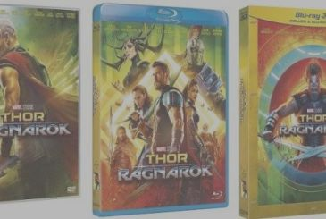 Thor: Ragnarok details and extras of the home video editions
