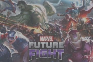 The video game Marvel: Future Fight, a new superhero
