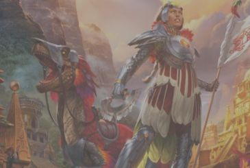 "Magic: The Gathering – is out today the new expansion for ""the Rivals of Ixalan"""