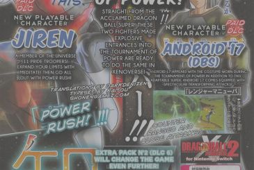 Dragon Ball Xenoverse 2: announced Jiren and C-17 as playable characters