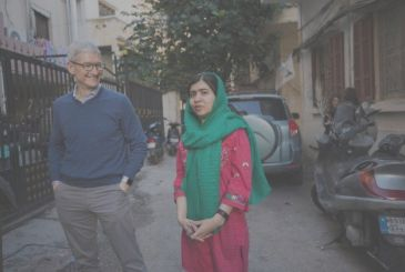 Apple will work with the Malala Fund to support the education of women in countries in difficulty,