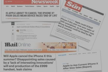 IPhone X withdrawn from the market. We clearly on yet another hoax that infests the web