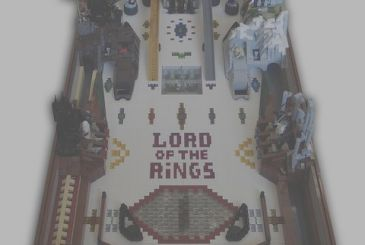 Bow down before this pinball the Lord of the Rings LEGO