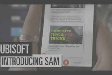 Ubisoft Sam: the virtual assistant tailored to gamers!