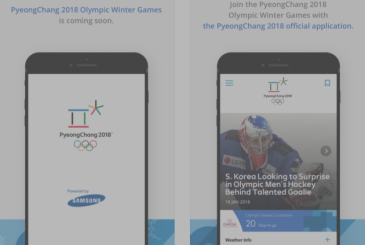 PyeongChang 2018: the official app of the winter Olympics