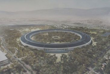 The city of Cupertino hereby grants the first licenses for the transfer of employees to the Apple Park