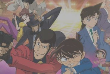 Lupin III vs Detective Conan – The Movie in the first tv, on Italia 1