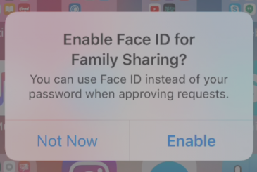 "IOS 11.3 allow you to approve purchases in the ""family"" using the Face ID!"