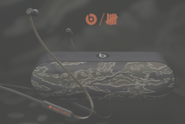 Beats and UNDEFEATED along with the new BeatsX and the Beats Pill+ camouflage