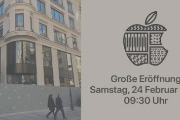 The first Apple Store in Austria opens on 24 February