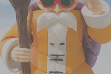 Dragon Ball, the figure of Master Roshi from S. H. Figuarts