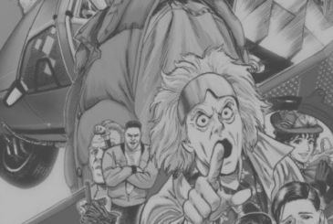 Back to the Future: Yusuke Murata shares two new illustrations of the manga version