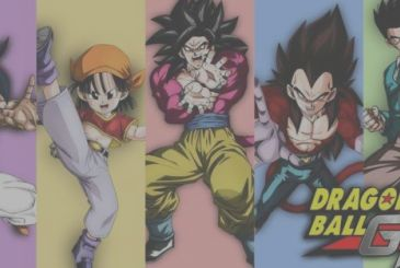 Dragon Ball GT: a rare illustration of Akira Toriyama