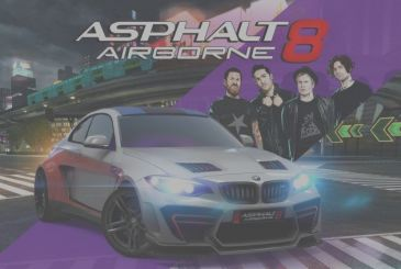 """On """"Asphalt 8: Airborne"""" the rock with Fall Out Boy"""
