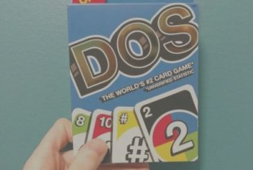 "Comes Dos, the new card game ""brother"" of One!"