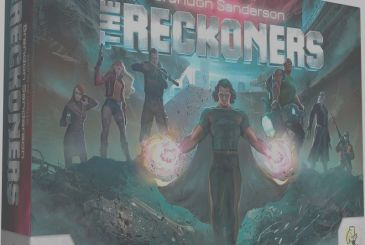 The Reckoners: debuted on Kickstarter, the board game inspired by the novels Sci-Fi of Brandon Sanderson