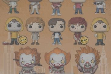 Arrive Funko POP EN with all the protagonists of the film, Muschietti!