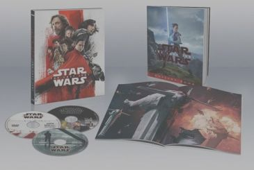 Home video versions of Star Wars: The Last Jedi will come on April 11th!