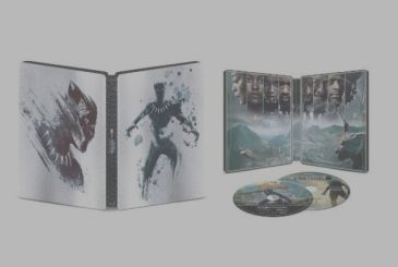 The Steelbook of the Black Panther is in pre-order on Amazon. Here are the first pictures