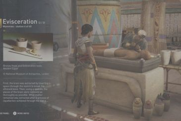 Assassin's Creed Origins: censored statues in the Discovery Tour