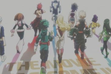 My Hero Academia The Movie, a first date of release of the film