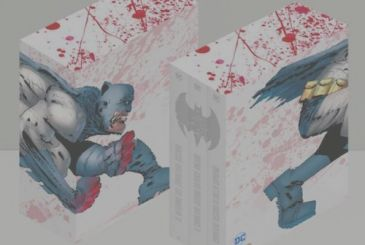 The trilogy of Batman by Frank Miller, will be published in a new exclusive slipcase