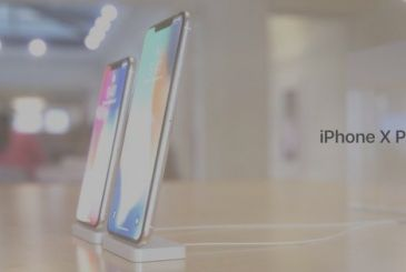 The next iPhone OLED display with a resolution of 1242 x 2688, dual SIM and gold color?