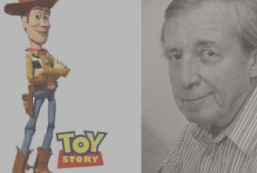 Dead Bud Luckey, the father of Woody of Toy Story