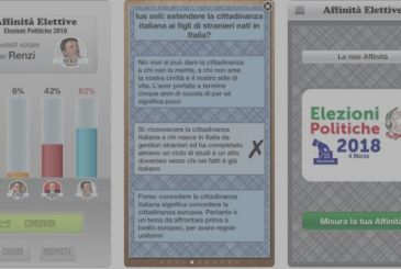Elective affinities, the app that measures your political preferences