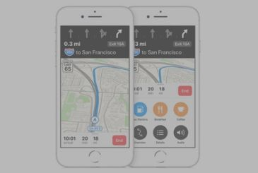 Directions to lane Apple Maps arriving in Austria and Switzerland