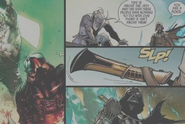 Star Wars: the comics reveal the origin (new) the lightsaber of Darth Vader!