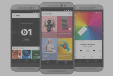 The new update for the Apple Music on Android