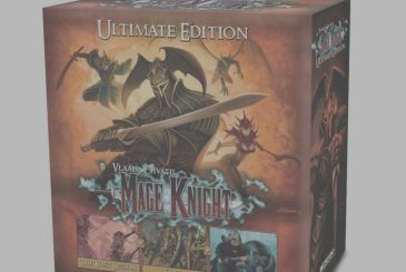 Mage Knight: Ultimate Edition – Games United will bring in Italy the definitive edition of the famous board game
