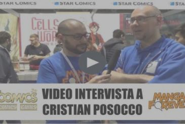 Video interview with Cristian Posocco, publishing manager Edizioni Star Comics – Super 2018