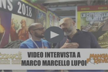 Video interview with Marco M. Lupoi, publishing director, Panini Comics – Super 2018