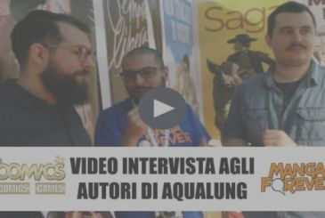 Video interview with Jacopo Paliaga & French Charlemagne (Aqualung – BAO) Super 2018