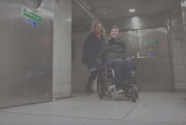 Google Maps provides specific guidance for users on the wheelchair