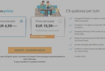 Amazon Prime increases price: it will cost 36 euros for the year!