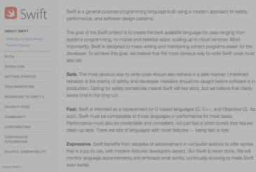 Apple speaks of the newness of Swift 4.1