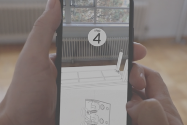 Assemble a piece of furniture from IKEA augmented reality? Here's a new concept