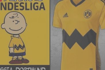 The Bundesliga takes to the field with jerseys inspired by the Peanuts